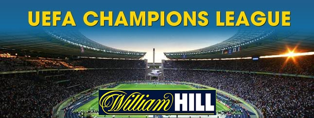 find all Champions League odds at William Hill